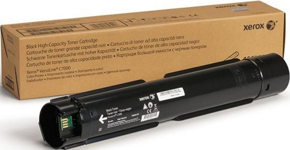 Картридж Xerox 106R03745, черный, для лазерного принтера, оригинал картридж xerox 013r00621 черный оригинал