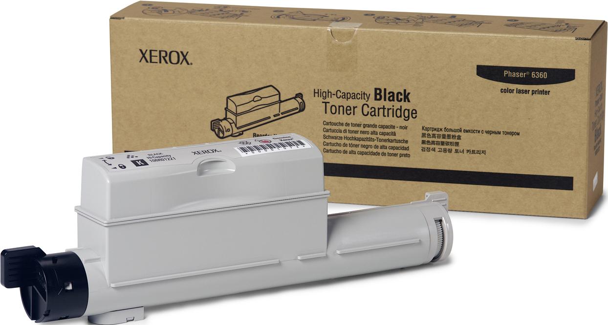 Картридж Xerox 106R01300, черный, для струйного принтера, оригинал картридж xerox 013r00621 черный оригинал