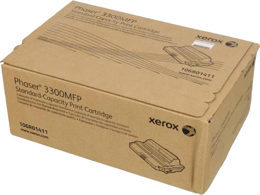 Картридж Xerox 106R01412 для Phaser 3300 MFP/X. Черный. 8000 страниц. картридж xerox 106r01411 для phaser 3300 mfp x черный 4000 страниц