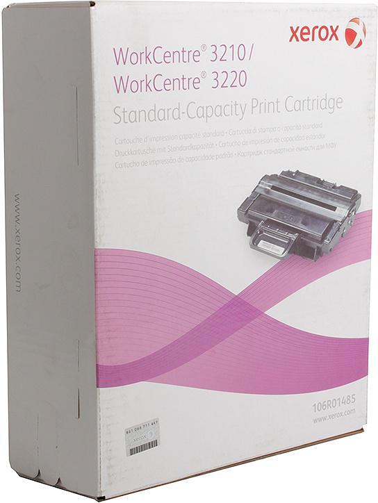 Картридж Xerox 106R01485, черный, для лазерного принтера, оригинал