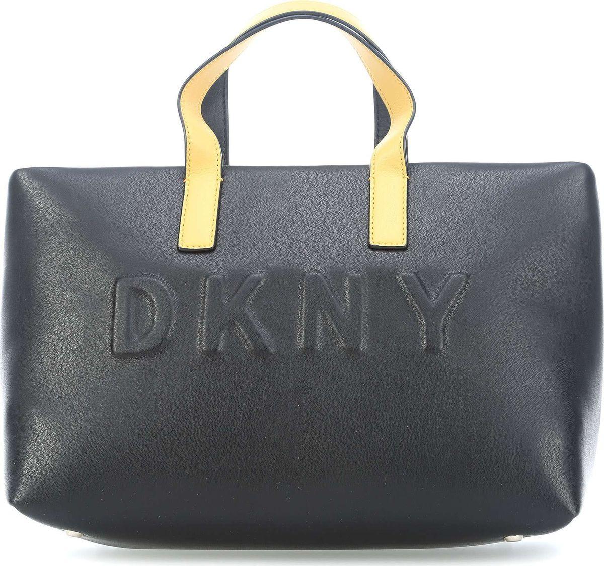 Сумка женская DKNY, R81AZ349/BLY, черный, желтый