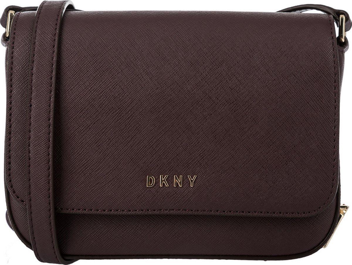 Сумка женская DKNY, R81E1328/CDV, бордовый бордовая сумка из экокожи