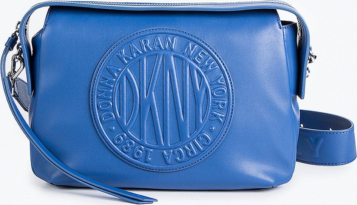Фото - Сумка кросс-боди DKNY fendi черная кожаная сумка с логотипом