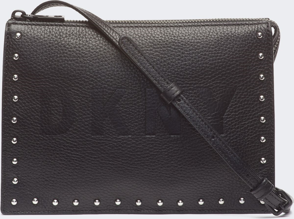 Сумка женская DKNY, R83EN796/BBL, черный сумка женская dkny r83e3623 xod красный