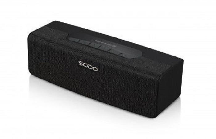 Беспроводная колонка SODO Портативная Bluetooth колонка SODO L2.LIFE FM-радио, слот для карт TF, Aux. Цвет: Черный, 1173 беспроводная колонка sodo портативная bluetooth колонка sodo l2 life fm радио слот для карт tf aux цвет серый 1170 белый