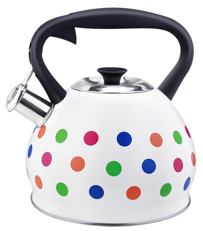 Чайник Bekker, 3 л. BK-S595 чайник металический со свистком 3 л bekker bk s433