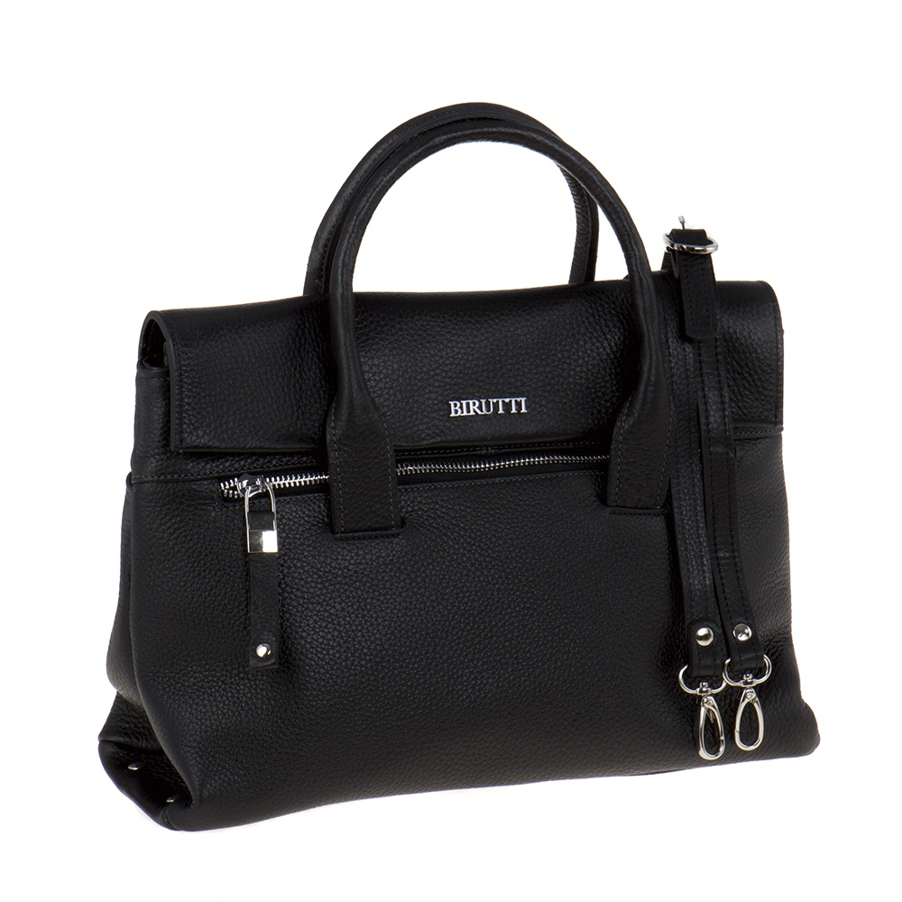 купить Сумка женская Alessandro Birutti, 0141, черный по цене 8300 рублей