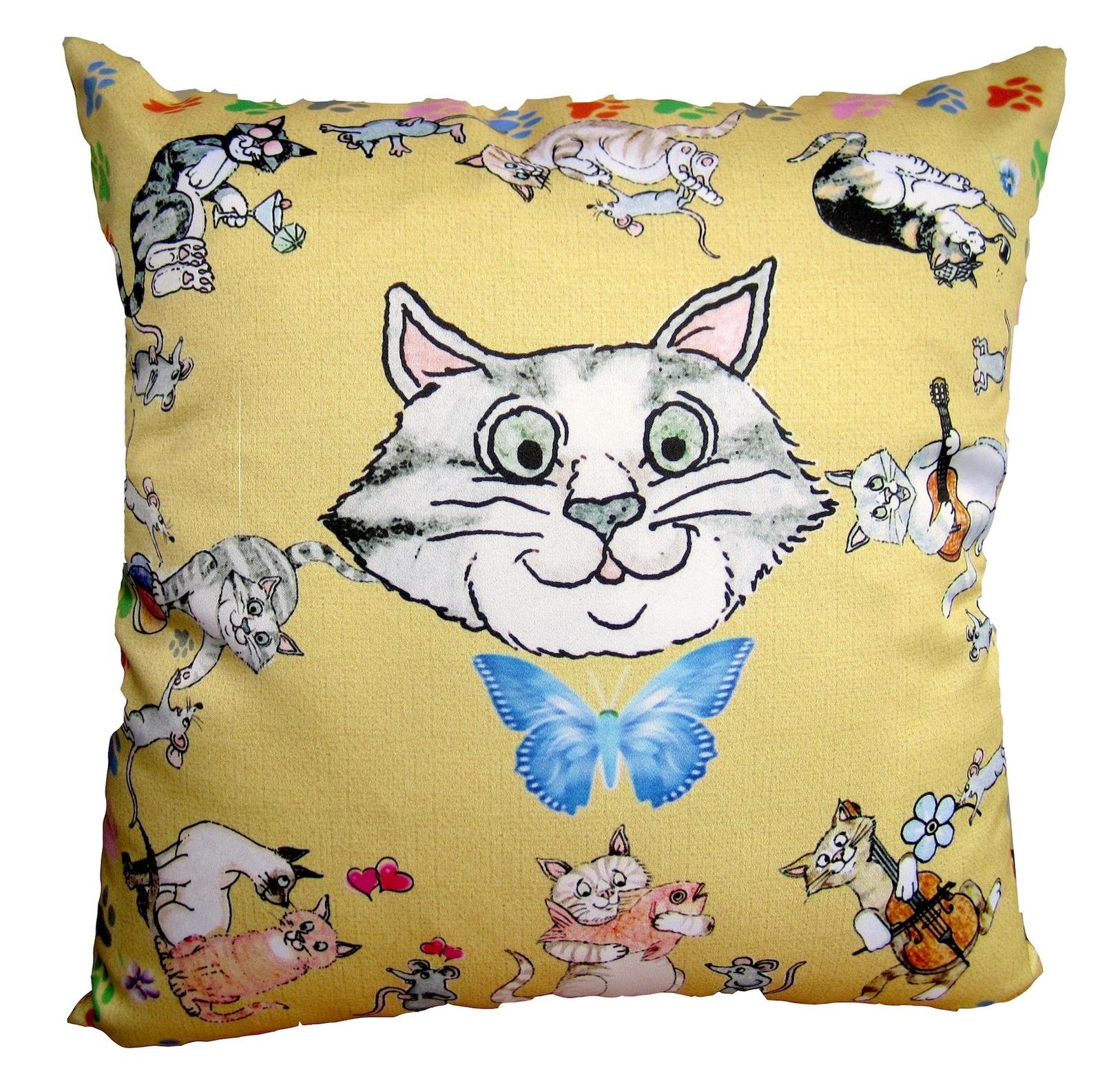 Наволочка для подушки Кошки-Мышки наволочка для подушки кошки мышки
