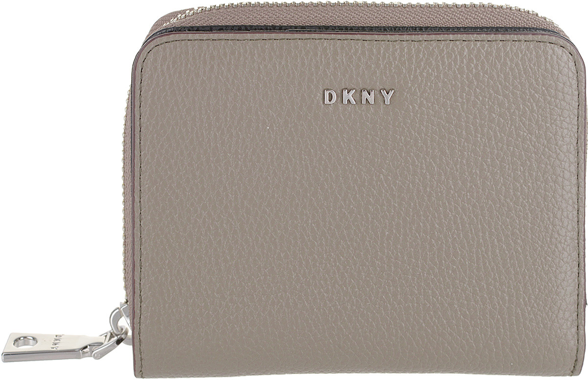 Кошелек женский DKNY, R741A096/CLY, серый кошелек dkny dkny dk001bwzky71