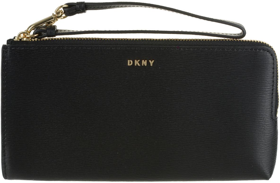 Кошелек женский DKNY, R74L3102/001, черный кошелек dkny dkny dk001bwzky71