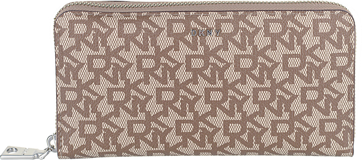 Кошелек женский DKNY, R831J658/3CJ, коричневый, сиреневый кошелек dkny dkny dk001bwzky71