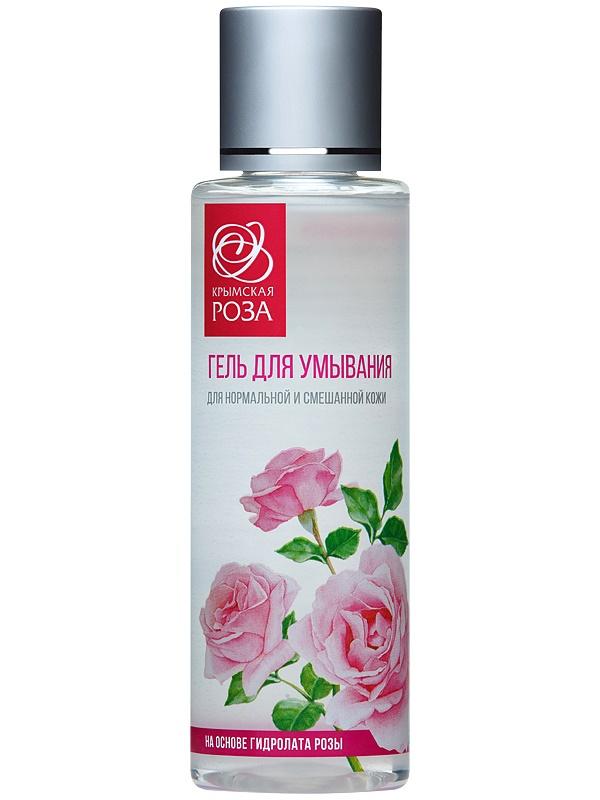 Гель для умывания Крымская роза для нормальной и смешанной кожи, 110 мл Крымская роза