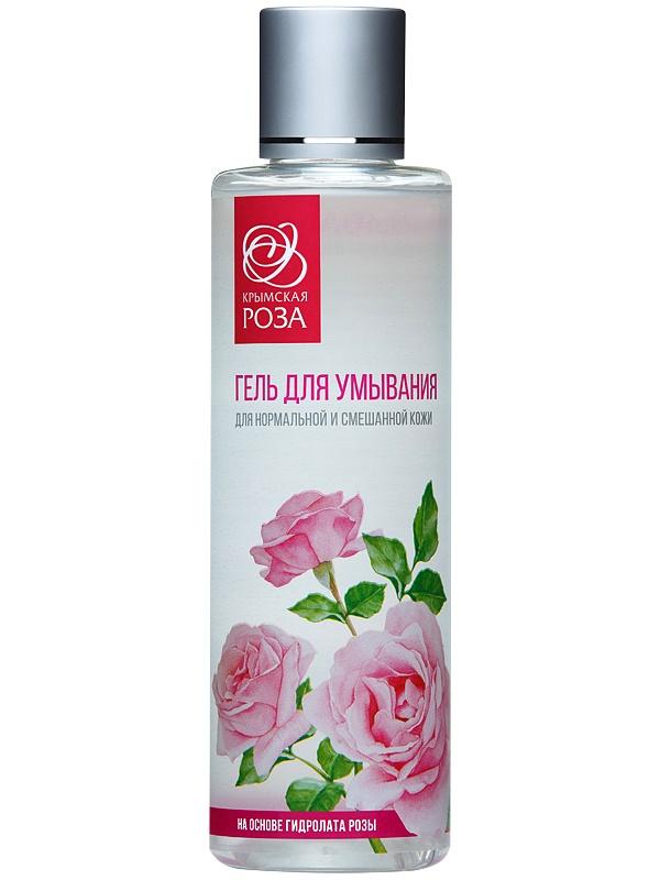 Гель для умывания Крымская роза для нормальной и смешанной кожи, 200 мл Крымская роза