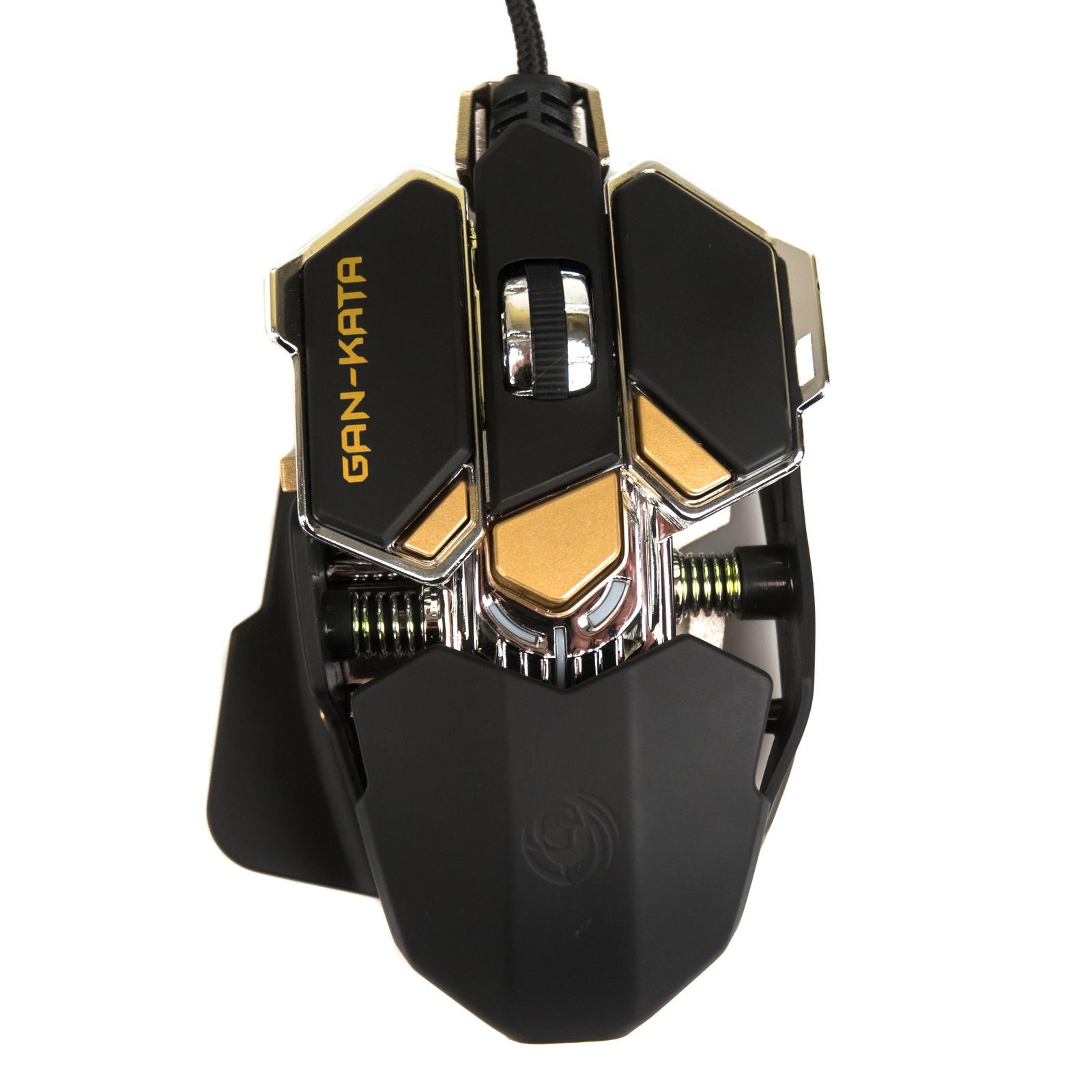 лучшая цена Игровая мышь DIALOG Gan-Kata MGK-50U, черная