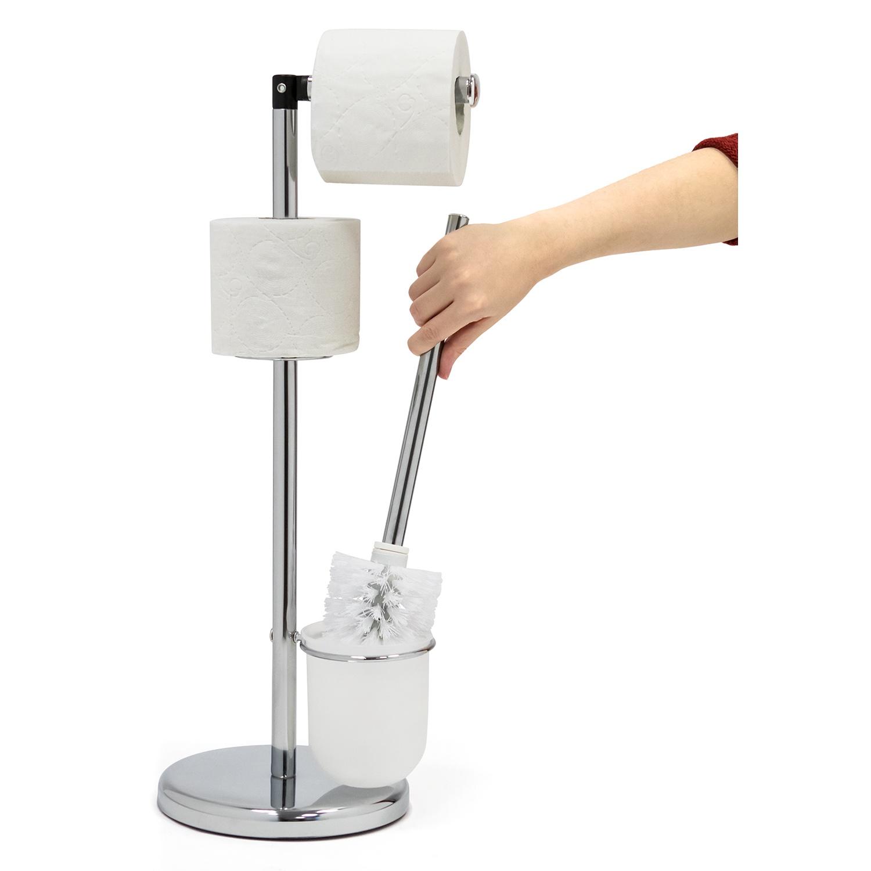 Гарнитур для туалета Tatkraft Wendy, с держателем для туалетной бумаги
