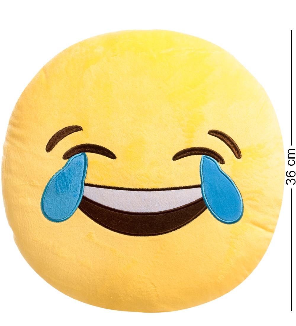 Подушка Lovely Joy ''Смайлик Смех до слез'' EK-05, 25241, желтый