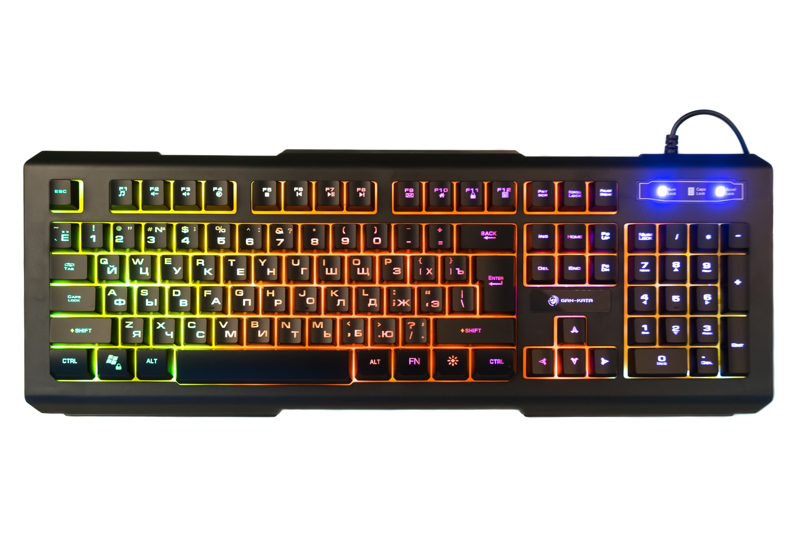 Игровая клавиатура DIALOG KGK-21U, черный