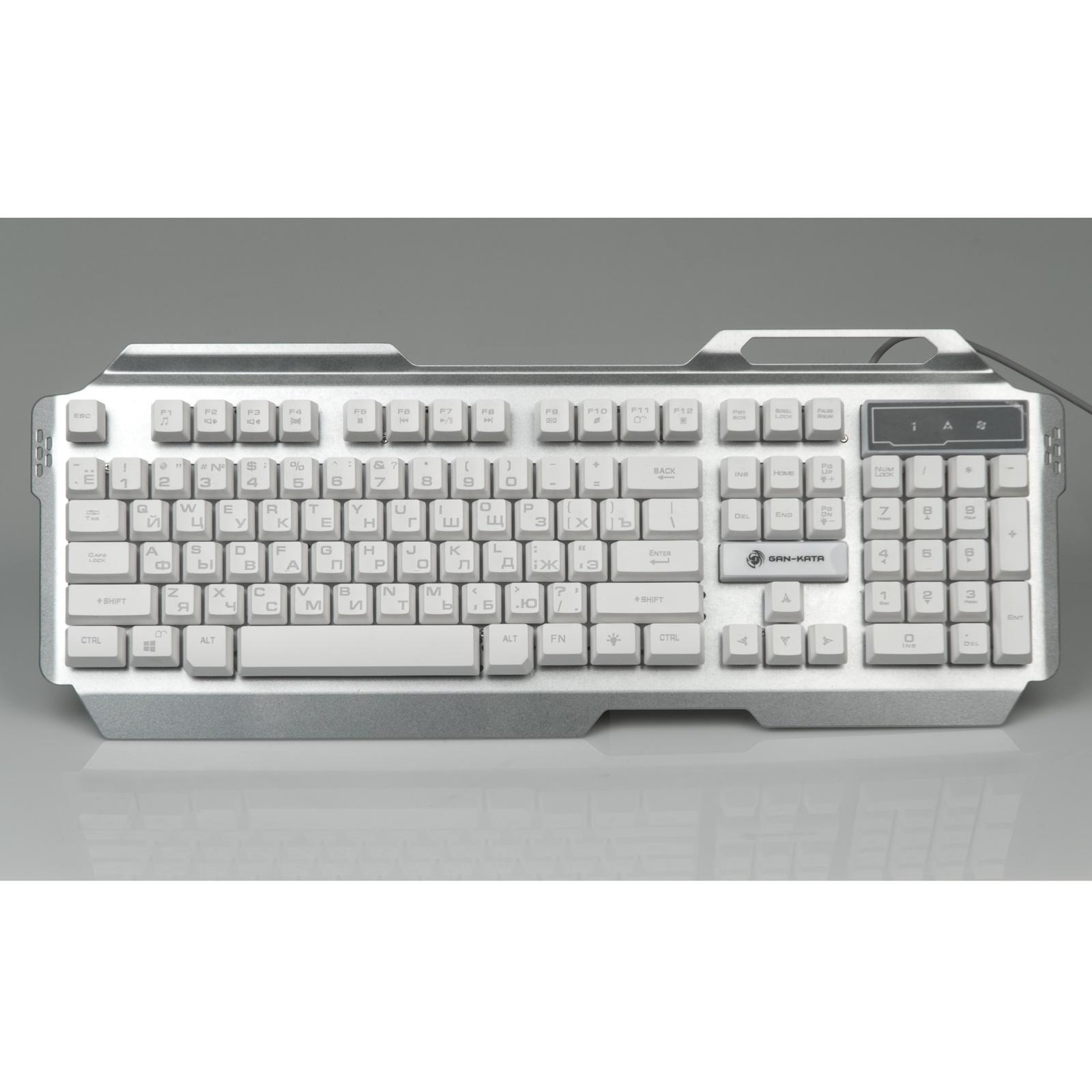 Клавиатура DIALOG KGK-25U, Gan-Kata, серебро, игровая, с подсветкой 3 цвета , корпус металл, USB клавиатура самсунг не переключает язык