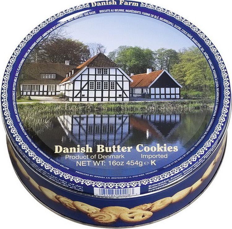 Печенье Kelsen Danish Farm сливочное, 454 г сладкий новогодний подарок тройка 800 г