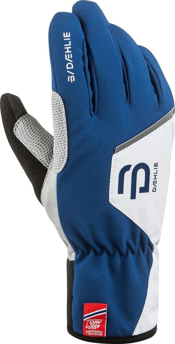Перчатки для мальчика Bjorn Daehlie Track Jr, цвет: синий. 331027_25300. Размер M (7/7,5) носки bjorn daehlie athlete light цвет белый 331084 12000 размер l 43 46