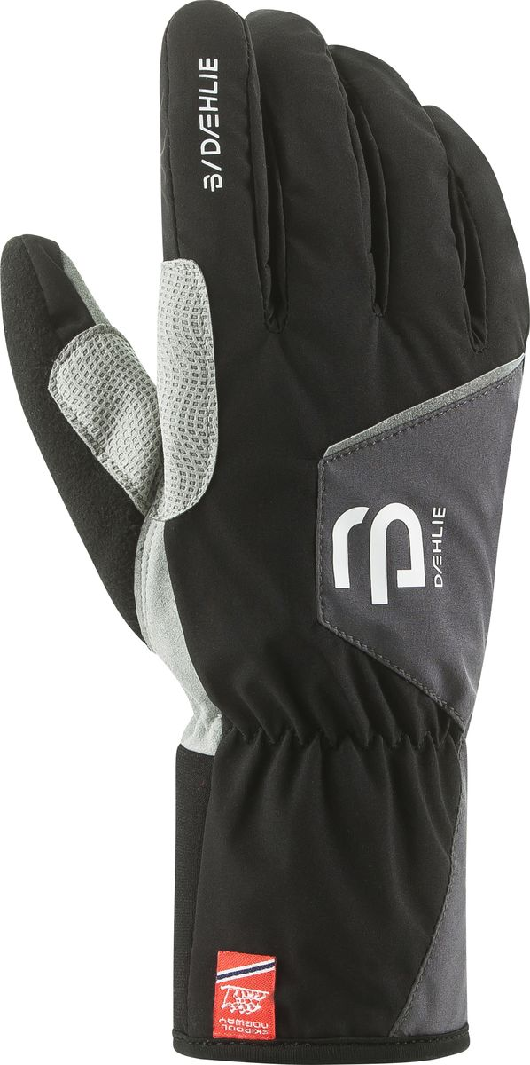 Перчатки для мальчика Bjorn Daehlie Track Jr, цвет: черный. 331027_99900. Размер S (6/6,5) носки bjorn daehlie athlete light цвет белый 331084 12000 размер l 43 46