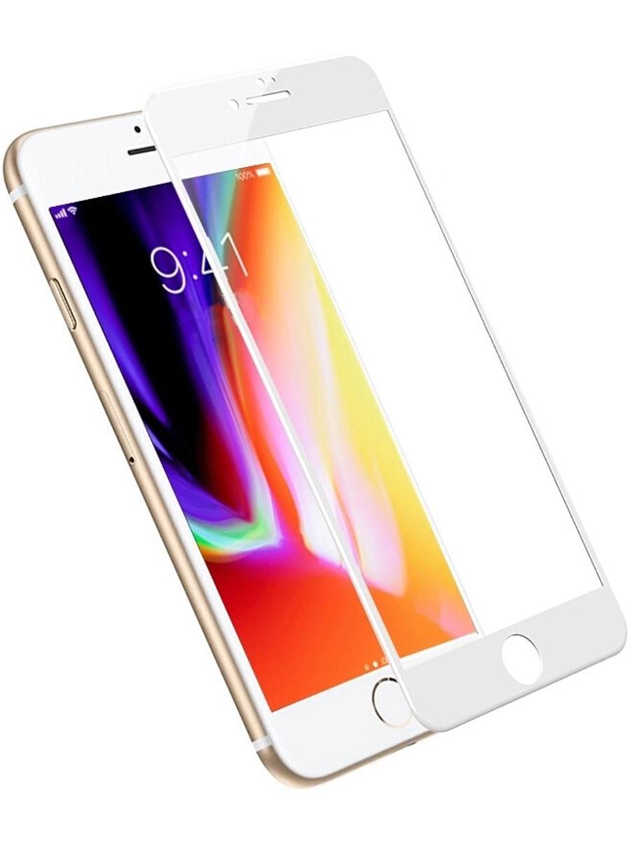 Защитное стекло YOHO для iPhone 6 Plus/6S Plus на полный экран 5D Full Screen, YZSI6SPw, белый