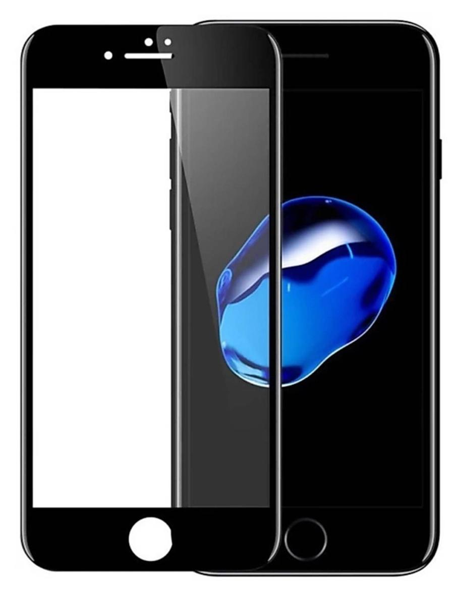 Защитное стекло для iPhone 7 Plus/8 Plus на полный экран 5D Full Screen. Черное защитное стекло для iphone 7 8 на полный экран 5d full screen черное