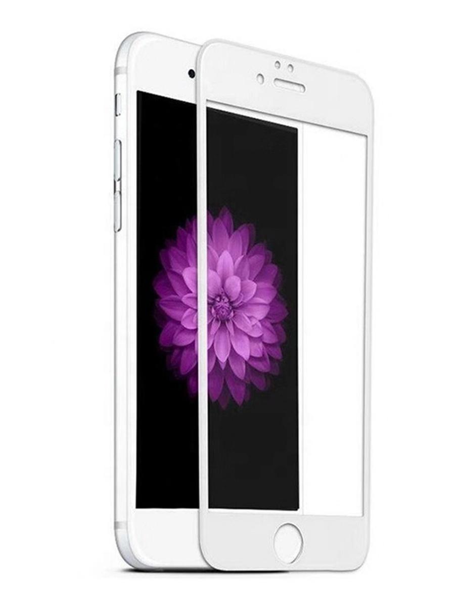 Защитное стекло для iPhone 7 Plus/8 Plus на полный экран 5D Full Screen. Белое защитное стекло для iphone 7 8 на полный экран 5d full screen черное