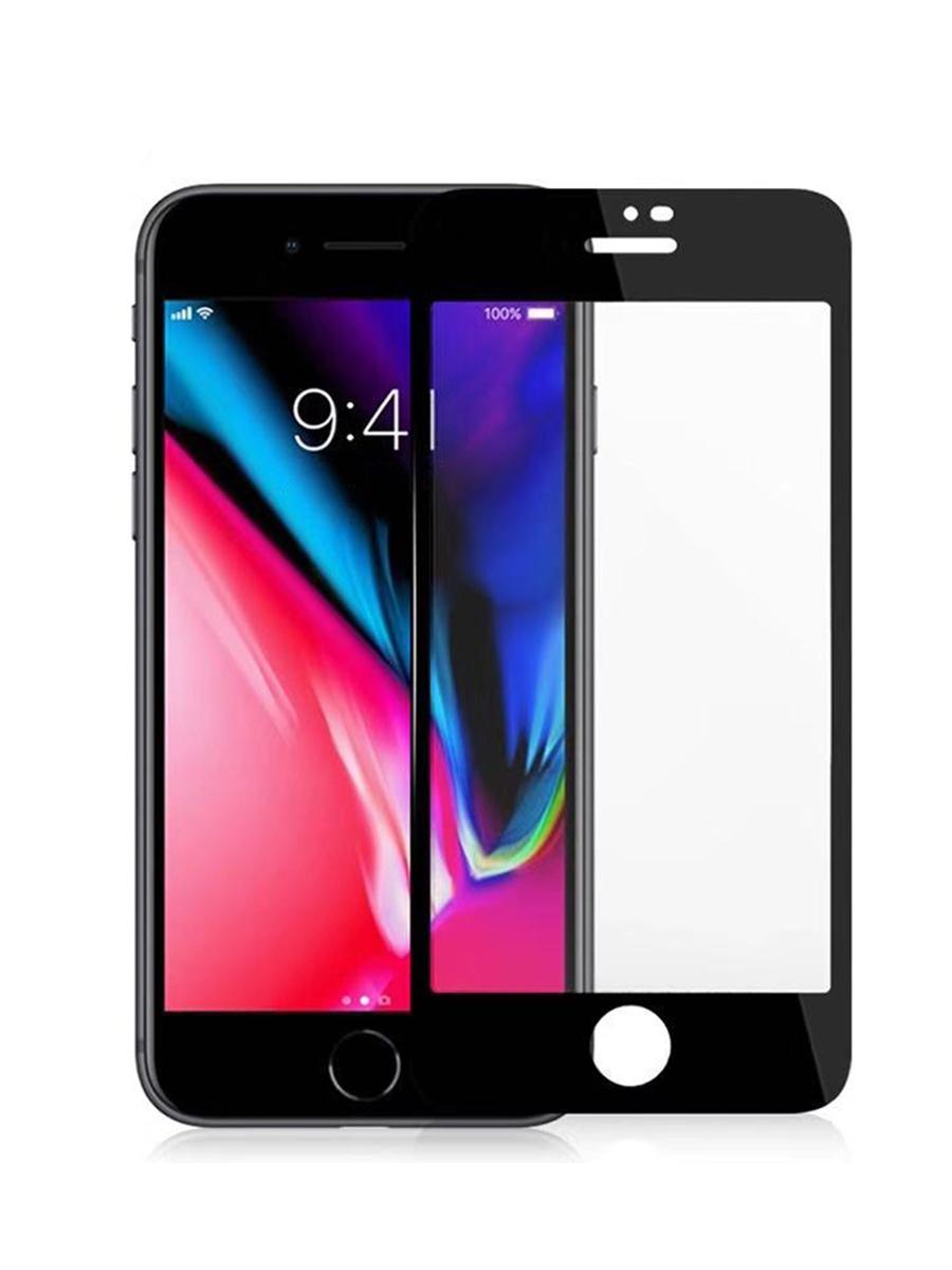 Защитное стекло для iPhone 7/8 на полный экран 5D Full Screen. Черное защитное стекло для iphone 7 8 на полный экран 5d full screen черное