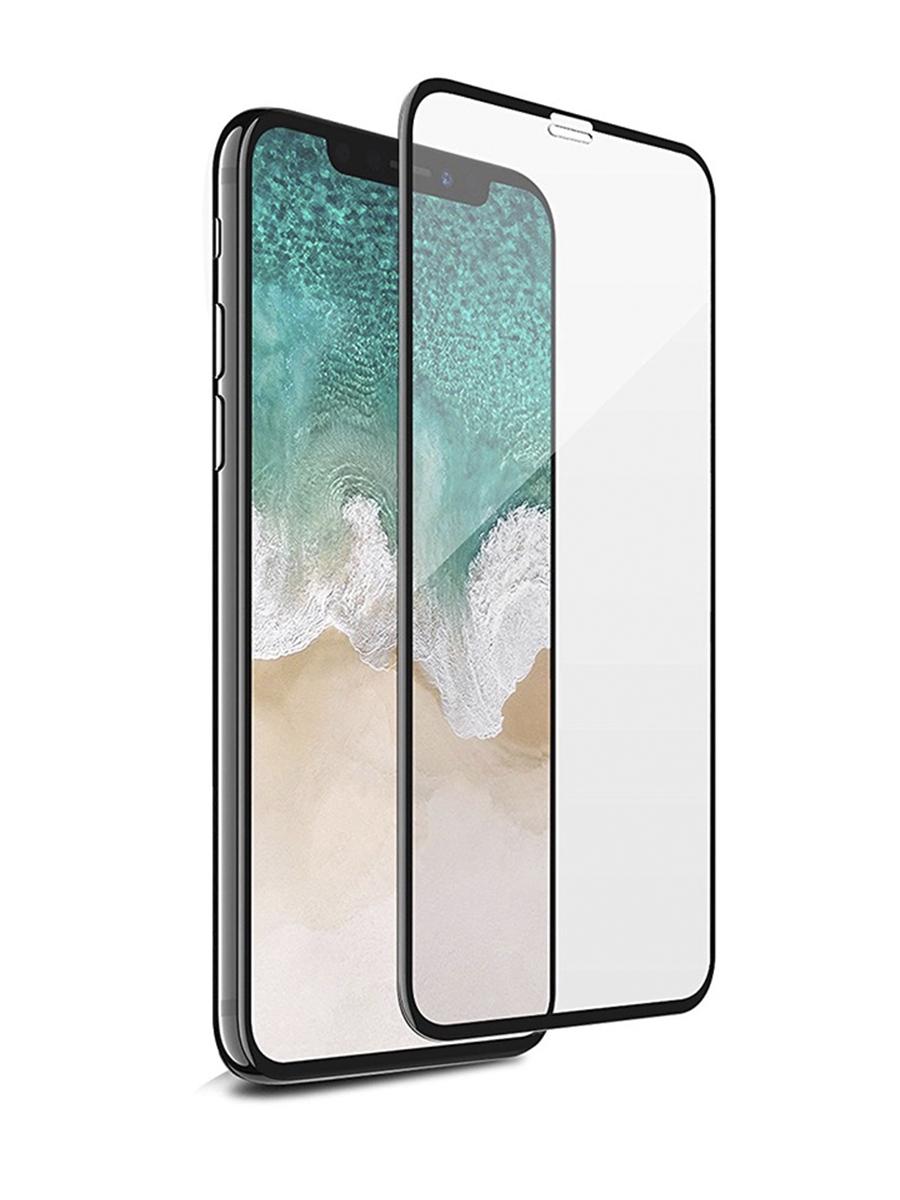 Защитное стекло для iPhone X/XS на полный экран 5D Full Screen. Черное защитное стекло для iphone 7 8 на полный экран 5d full screen черное