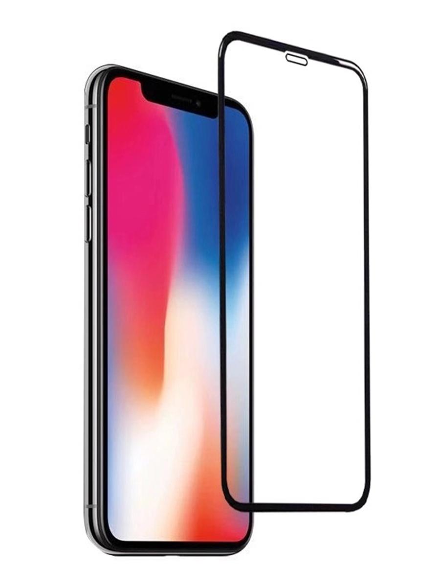 Защитное стекло для iPhone XS MAX на полный экран 5D Full Screen. Черное защитное стекло для iphone 7 8 на полный экран 5d full screen черное