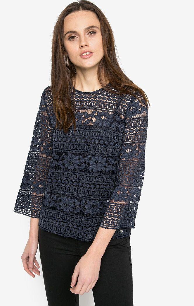 Блузка TRUSSARDI JEANS футболка мужская trussardi jeans цвет темно синий 52t00230 1t001675 u290 размер xl 54