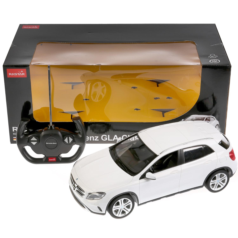 Машинка Rastar 184145, 184145 белый машинка радиоуправляемая mz mercedes benz 2370pf