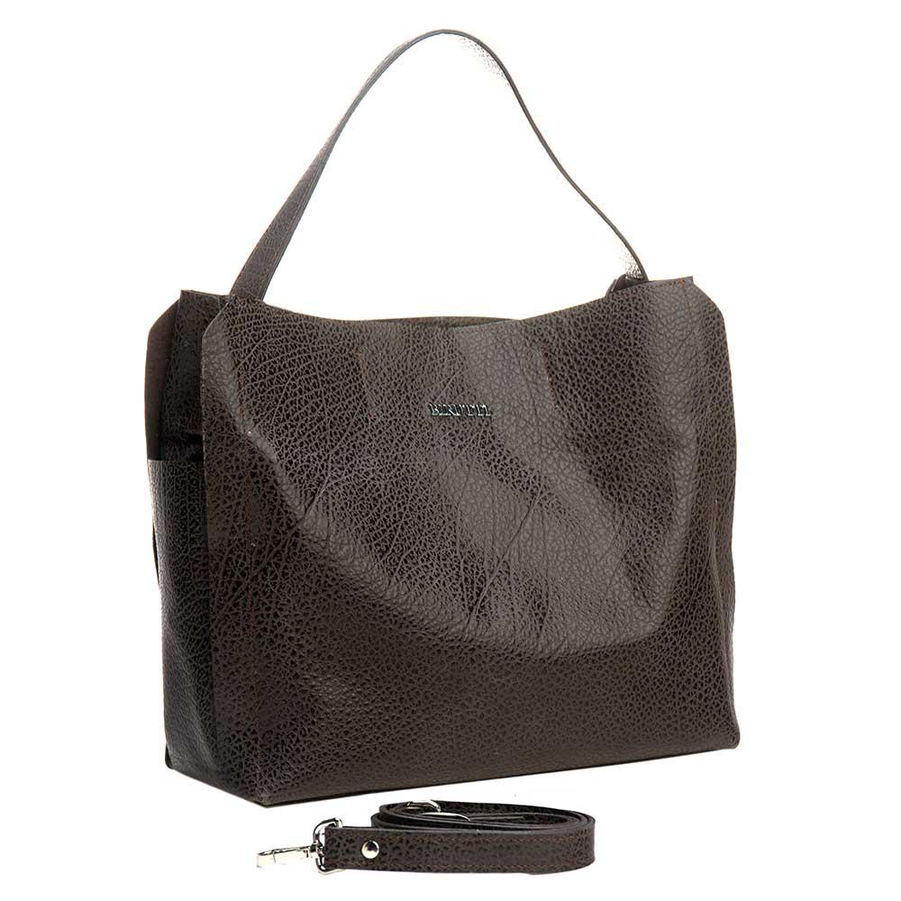 купить Сумка женская Alessandro Birutti, 0181, коричневый по цене 8350 рублей