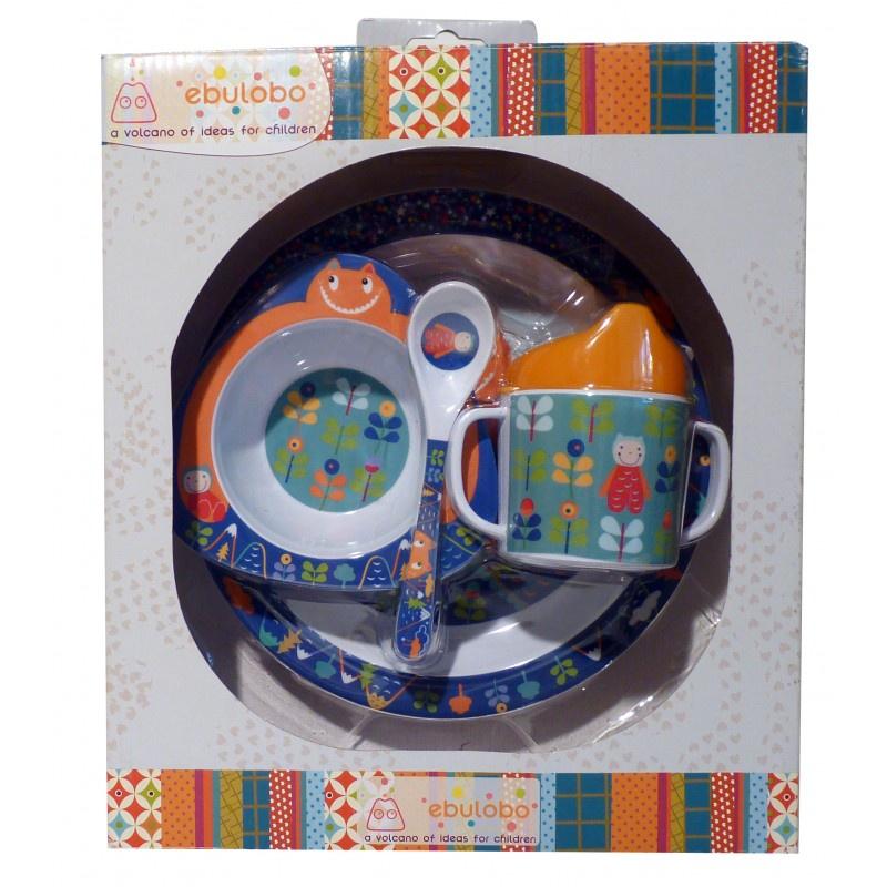 Набор посуды Ebulobo Гигант, E75007F авент набор посуды д малыша 6м