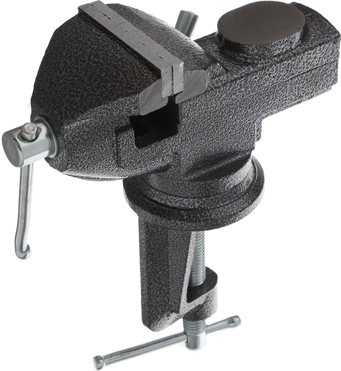 Тиски поворотные Top Tools, с наковальней, 60 мм цена