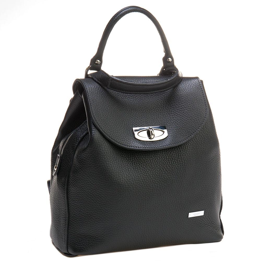 Рюкзак Alessandro Birutti 0183/, 0183/черн, черный nabe как прохладно nb плеча сумку женщин моды тенденции дамы рюкзак многофункциональный износостойкой женской сумке nb239 классический черный