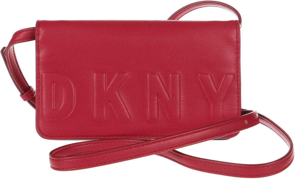 Сумка женская DKNY, R82YV505/7SD, красный сумка женская dkny r83e3623 xod красный
