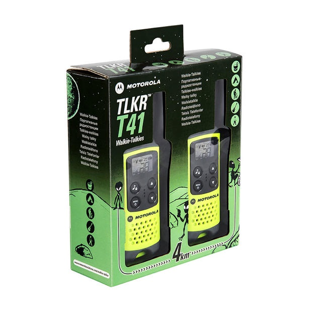 Комплект радиостанций Motorola TLKR-Т41 P14MAA03A1BP+, Green