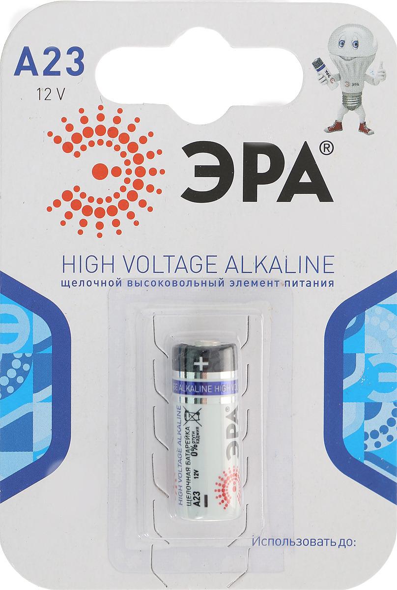 Батарейка алкалиновая ЭРА Energy, тип A23 (1BL), 12В батарейка алкалиновая эра energy тип a27 1bl 12в