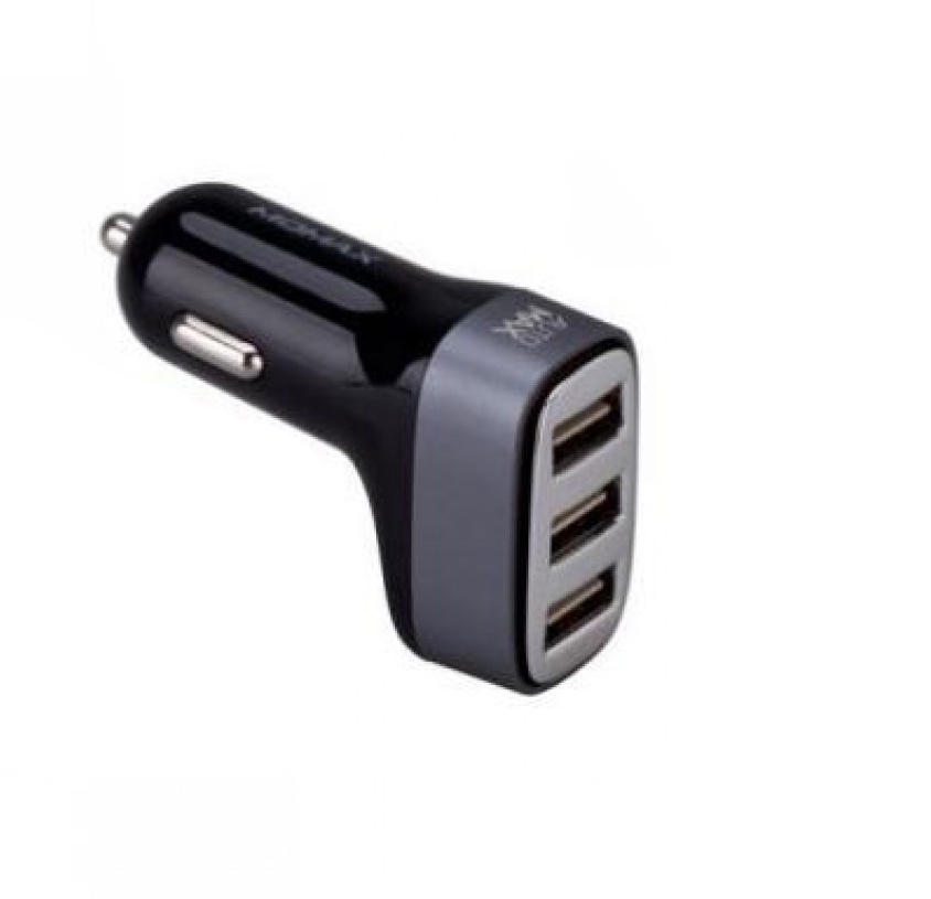 Фото - Автомобильное зарядное устройство Momax MOMAX Polar Light Series Car Charger-Dual USB Black UC4D, 4894222040892, черный, серый hh 170 creative emotions pattern car charger dual usb white black 12 24v
