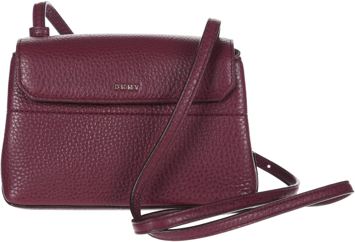 Сумка женская DKNY, R83E5687/XOD, красный сумка женская dkny r83e3623 xod красный