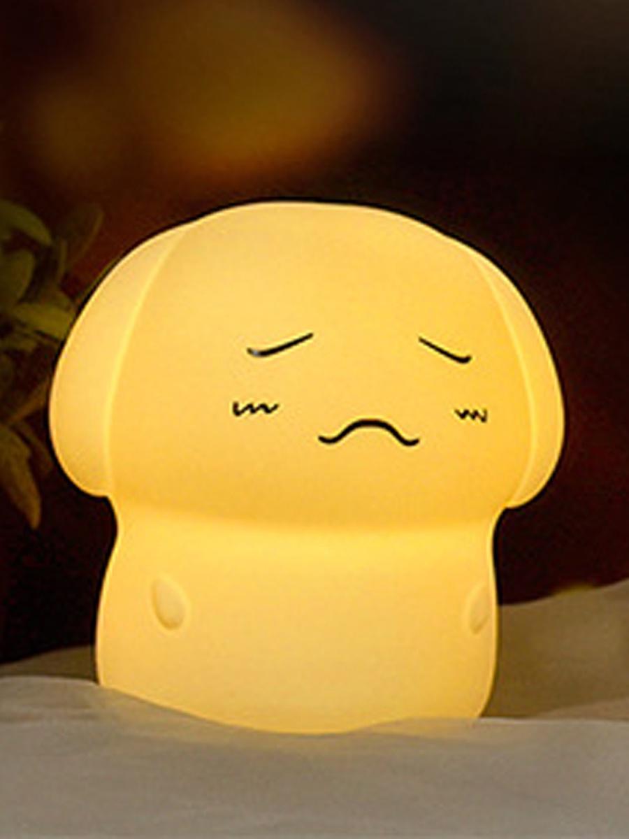 Детский светильник Lumobook Собачка, LB-SIL-28, белый детский светильник lumobook утка lb sil 09 розовый