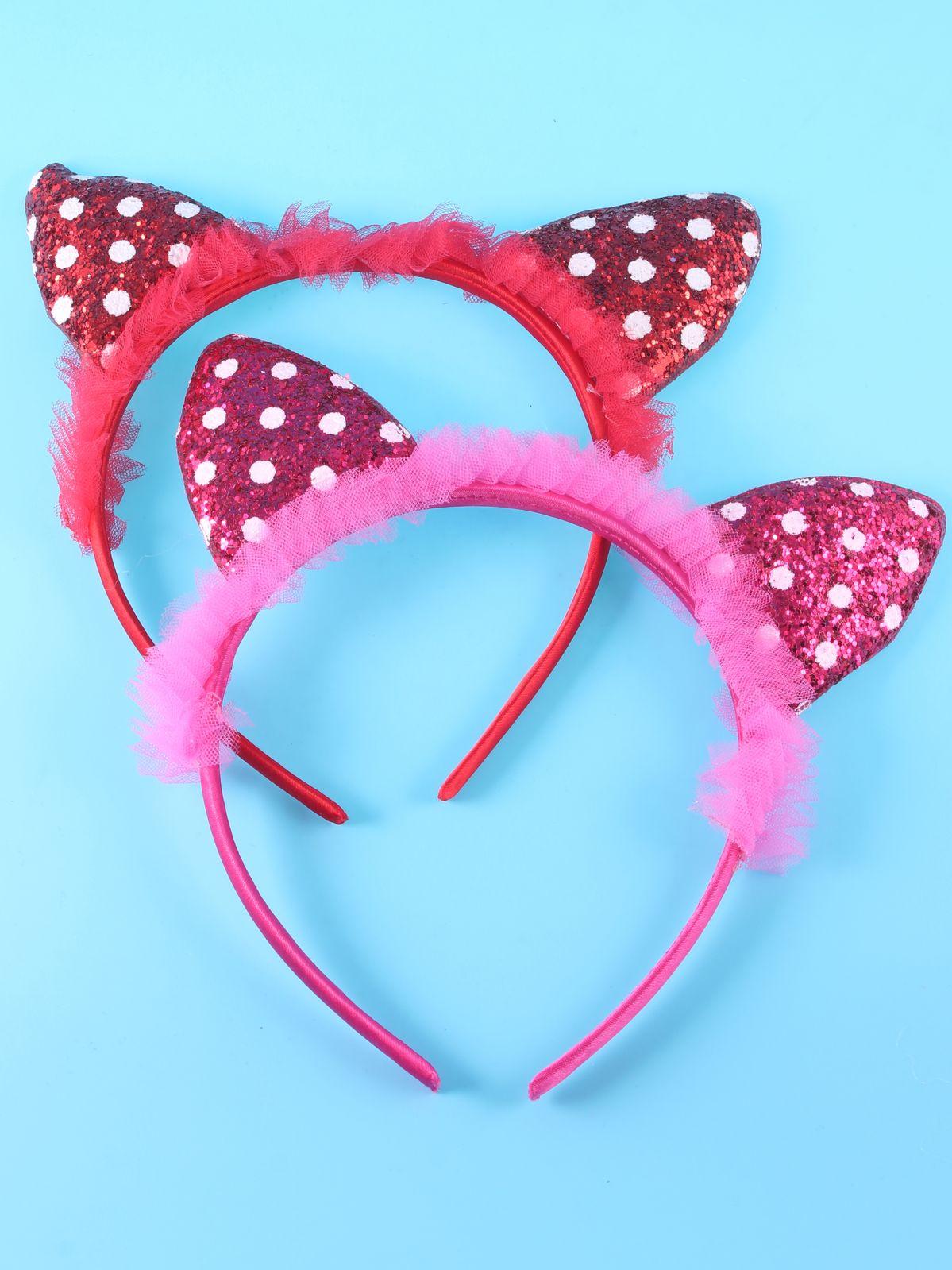 Ободок для волос Hello Trend, 7426936740835, розовый, 2 шт7426936740835Ободок, набор 2 штуки