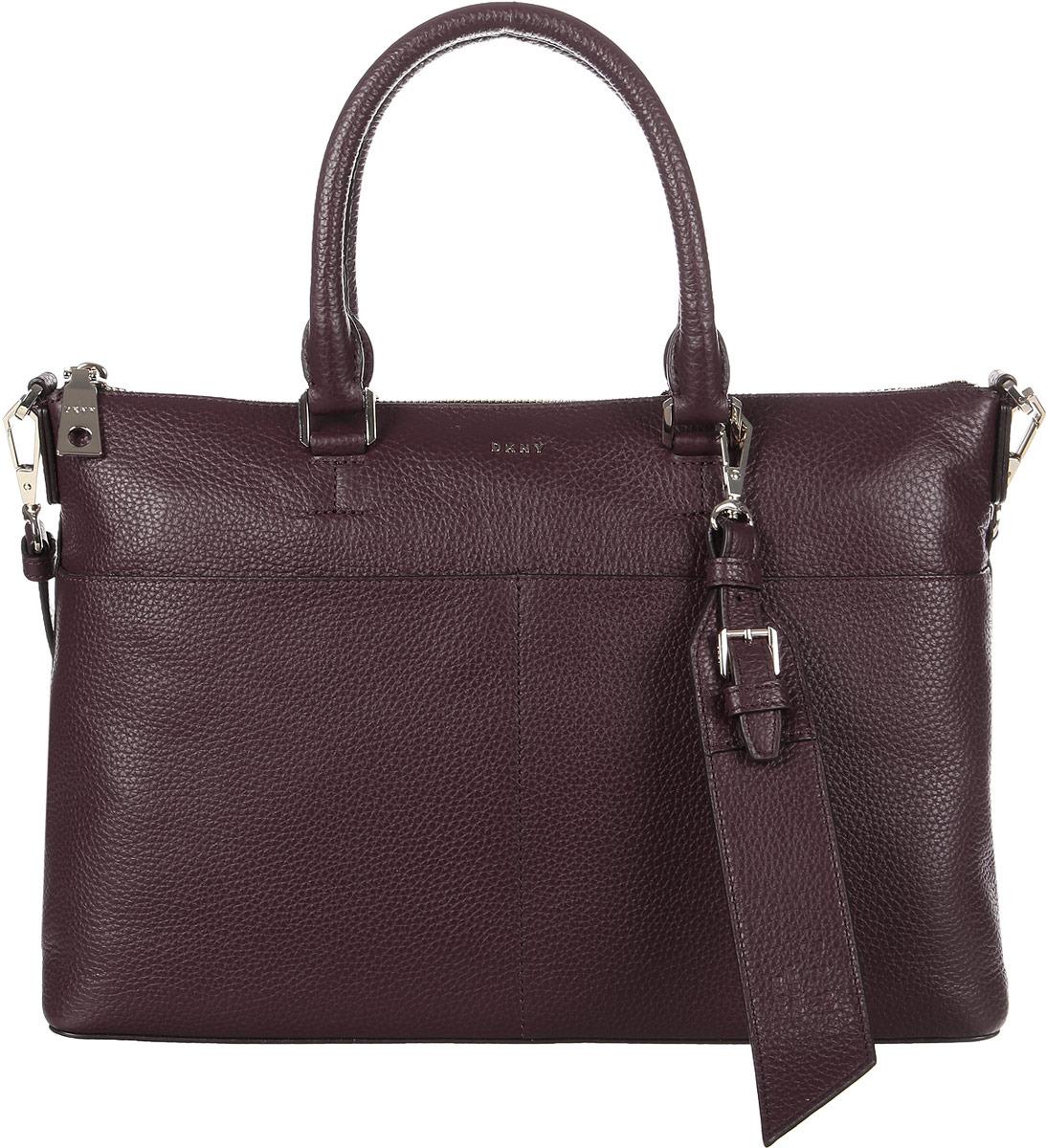 Сумка женская DKNY, R83DA751/XOD, красный сумка женская dkny r83e3623 xod красный
