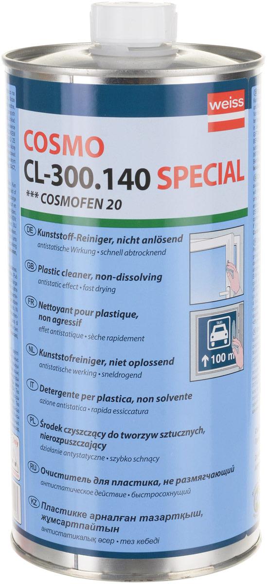 Очиститель для ПВХ нерастворяющий Cosmofen 20CL-300.140Это современное средство, применяющееся для щадящей чистки пластиковых поверхностей. Не обладает растворяющими свойствами, поэтому бережно очищает, не оказывая негативного воздействия на обрабатываемое основание. Содержит в своем составе антистатик, предотвращающий последующее загрязнение. Эффективно борется с остатками герметиков, клея, защитной пленки, удаляет пыль и следы жирных карандашей. Используется для профессиональной обработки выставочных стендов и рекламных конструкций, а также в оконном производстве. Уважаемые клиенты! Обращаем ваше внимание на возможные изменения в дизайне упаковки. Поставка осуществляется в зависимости от наличия на складе. Рекомендуем!