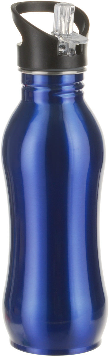 Бутылка для воды Walmer Sport, цвет: синий, 600 мл бутылка для воды walmer sport цвет синий 600 мл
