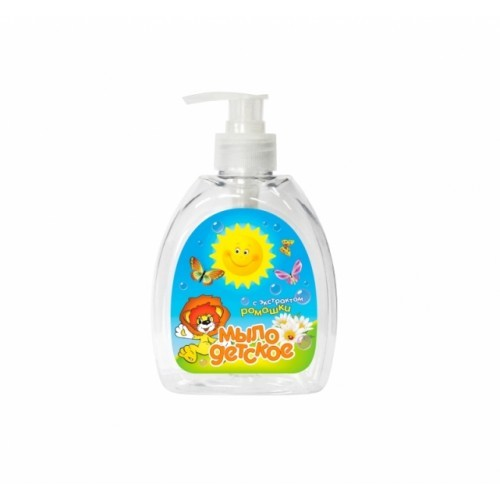 Детское мыло Фабрика Ромакс жидкое с экстрактом ромашки, 300 мл мое солнышко мыло жидкое с экстрактом ромашки дозатор 300 мл