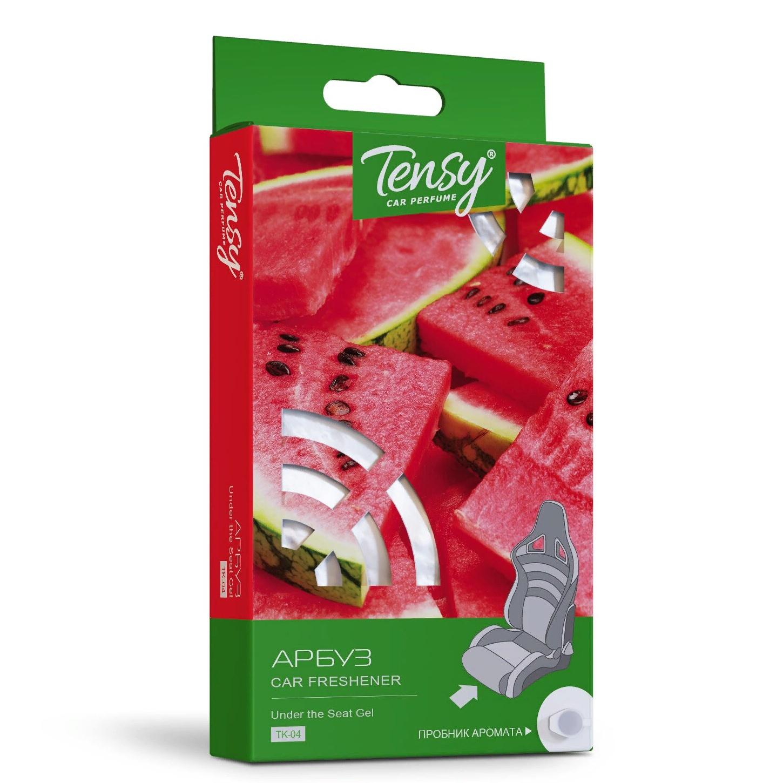 Автомобильный ароматизатор Tensy под сиденье, основа гель, Арбуз ароматизатор воздуха f 15 лакомый нектар под сиденье двойной концентрации 200 мл fouette