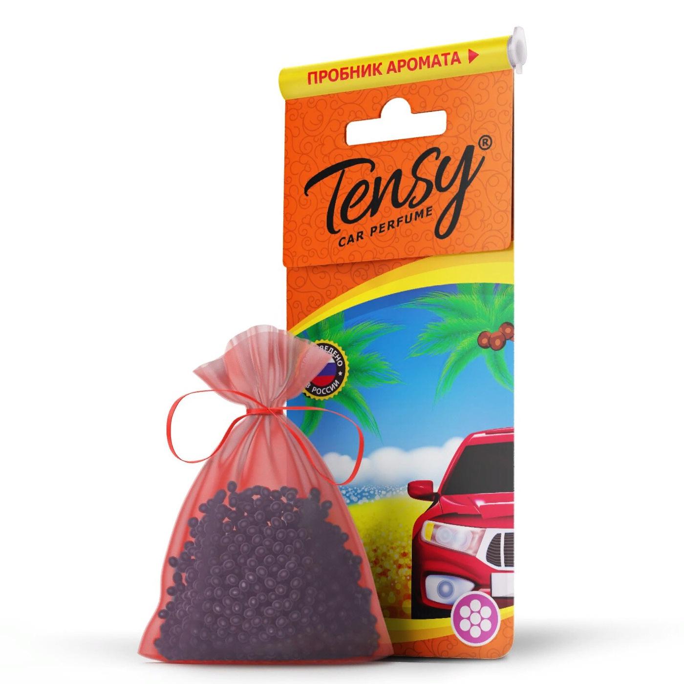 Автомобильный ароматизатор Tensy мешочек, основа гранулы, Новая машина автомобильный ароматизатор doctor wax новая машина dw0807 под сиденье